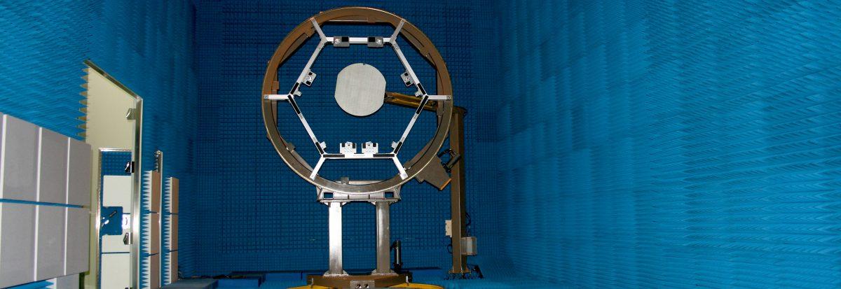 アンテナ評価用電波暗室